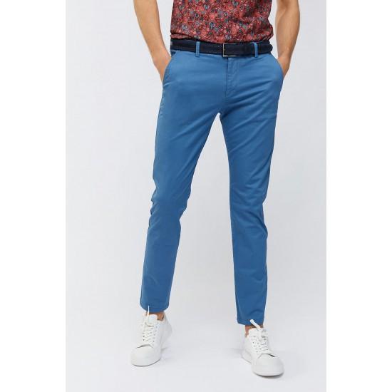 Mavı kanvas pantolon