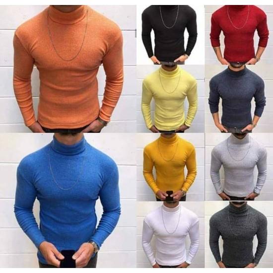 Heron turtleneck sweater