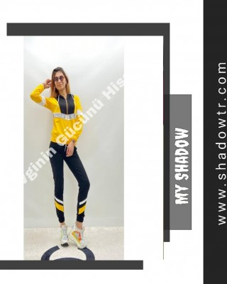 Ck stone yellow sweat suit