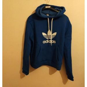 Mavi renk adidas sweatshirt