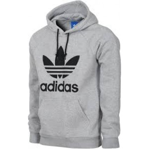 Gri renk adidas sweatshirt