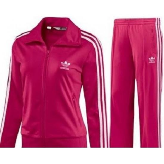 Adidas pink tracksuit team
