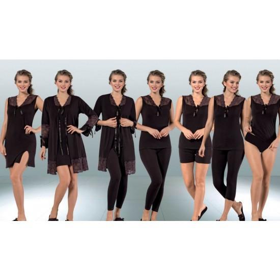 7 set normal size nightwear